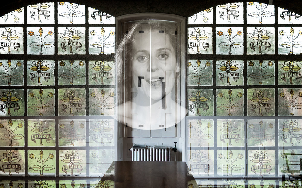 Projection 'A Poem of a House' at National Trust's Red House