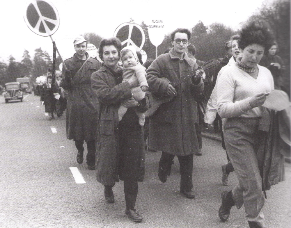 Aldermaston march, 1958