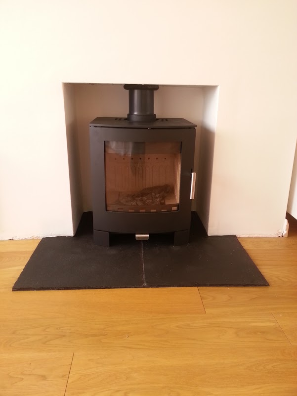 Aduro 16 wood burning stove install Brighton