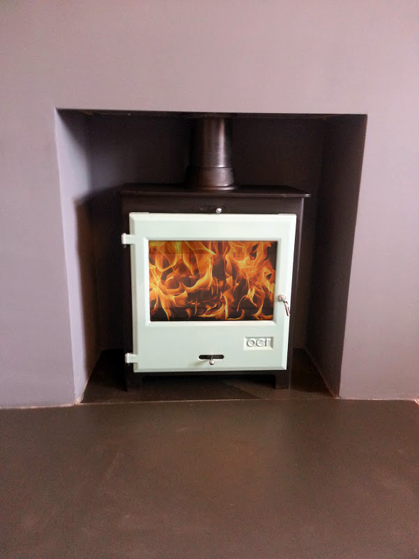 oer wood burner installation Brighton