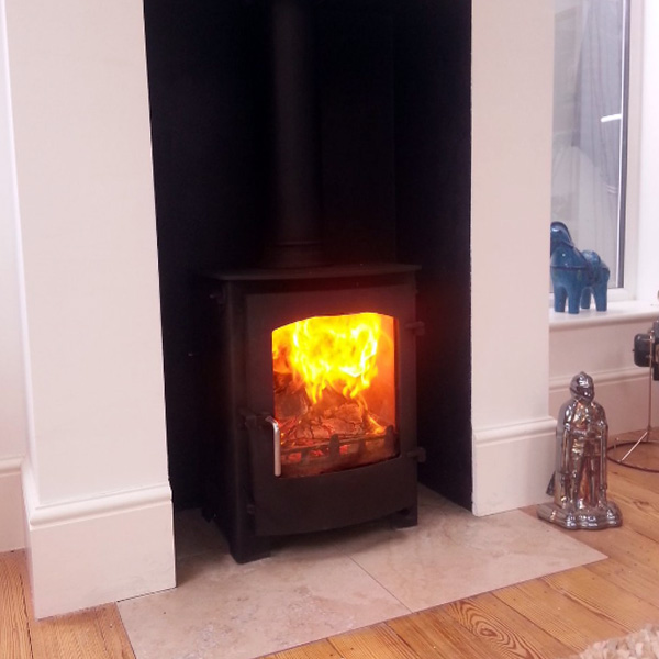 #Town&Country Rosedale 7.3kw #stove #installation in #Brighton