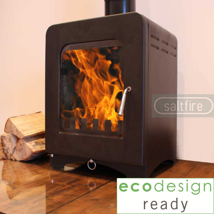 Saltfire - Saltfire Stoves are a company based in Dorset and sell in excess of 7000 stoves per year. Their sleek and elegant design is a perfect mix between traditional and modern. All steel bodied, these stoves are the highest quality budget stoves on the market. If money is your deciding factor you cannot get a better bang for your buck than a Saltfire. All Saltfire stoves come with a 3 year warranty.ST1, ST1 Vision and ST2 are all now ecodesign ready