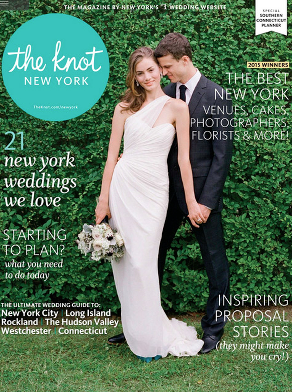 THE KNOT MAGAZINE<br>SPRING 2015