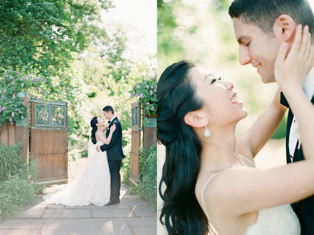 brooklyn botanical garden wedding photos