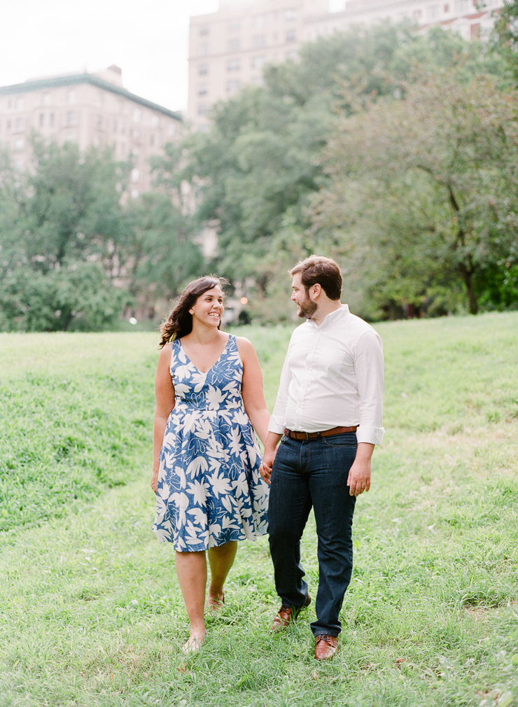 Riverside Park Engagement Session Photos in New York City