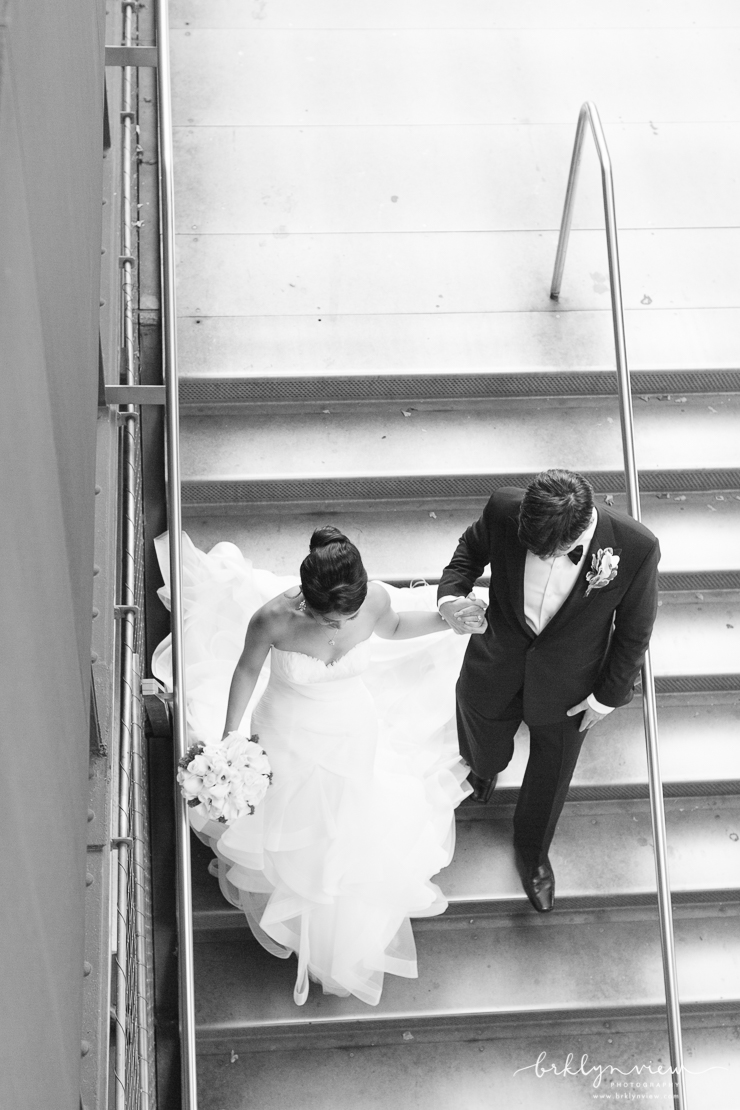 NYC Highline Wedding Photos