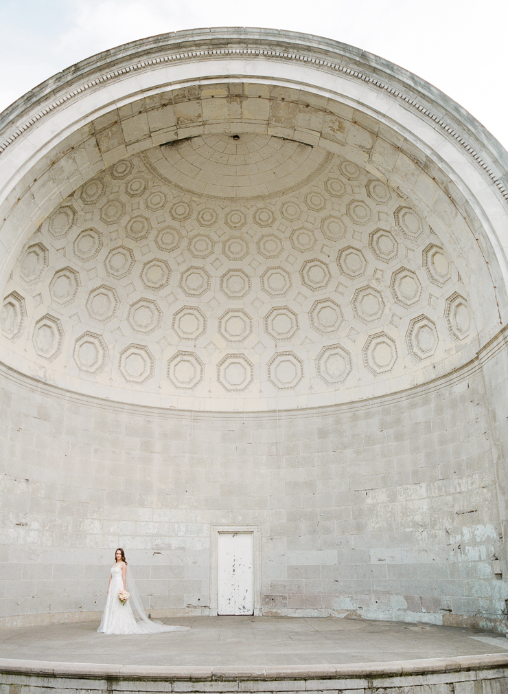 Central Park Bandshell Wedding Photos