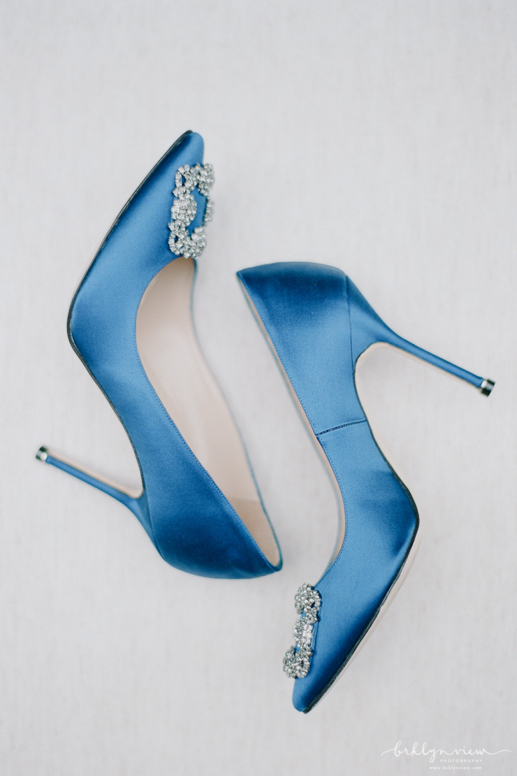 Manolo Blahnik Carrie Bradshaw Wedding Shoes