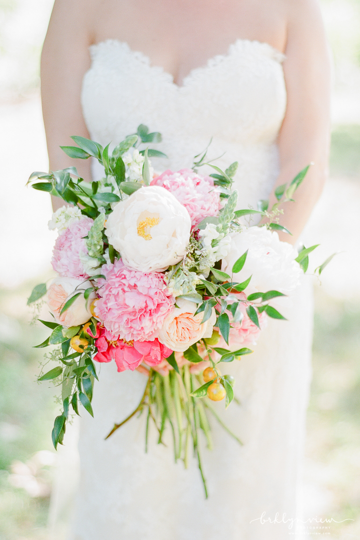 Stems Brooklyn Peonies Wedding Bouquet