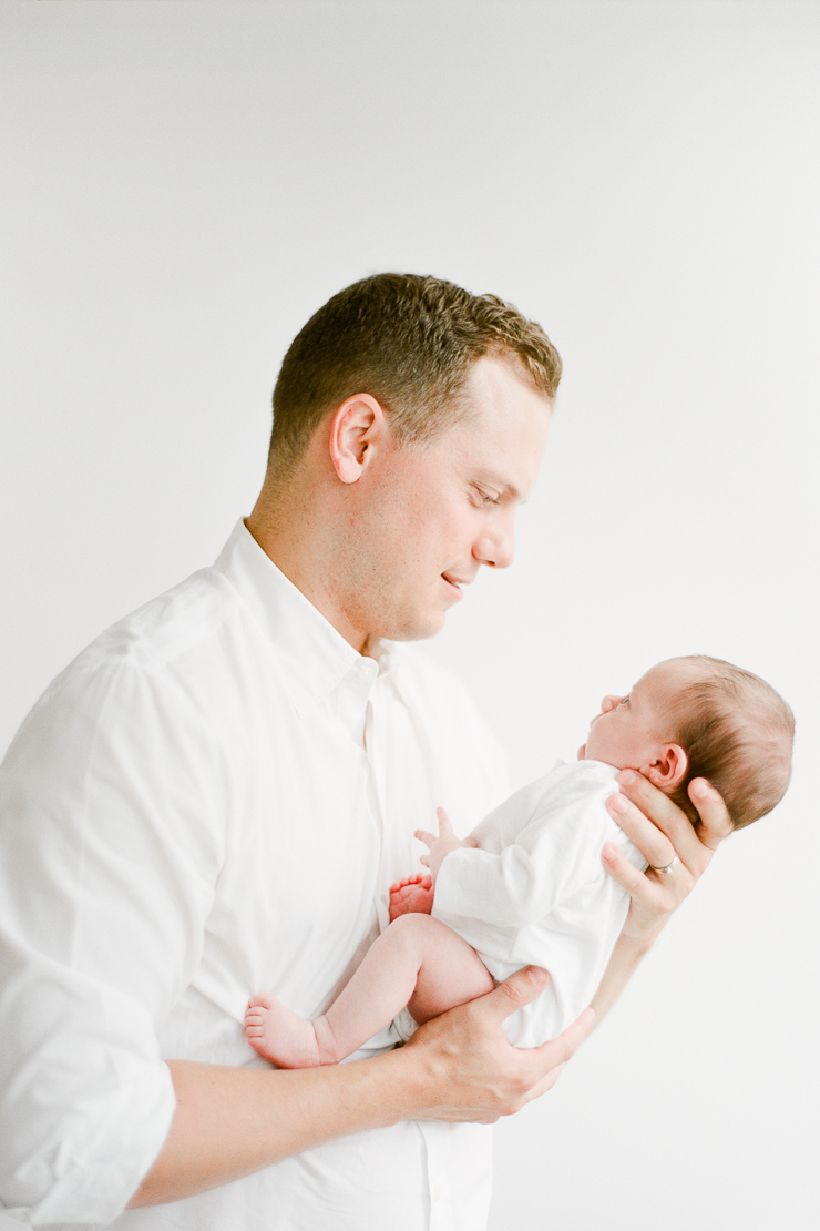 Brooklyn Lifestyle Newborn Session Photos