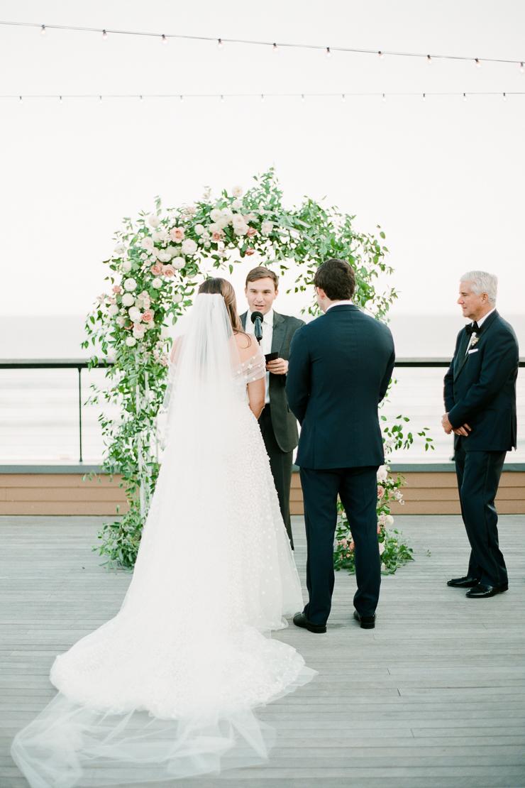 Wedding Ceremony Photos at Gurneys Montauk