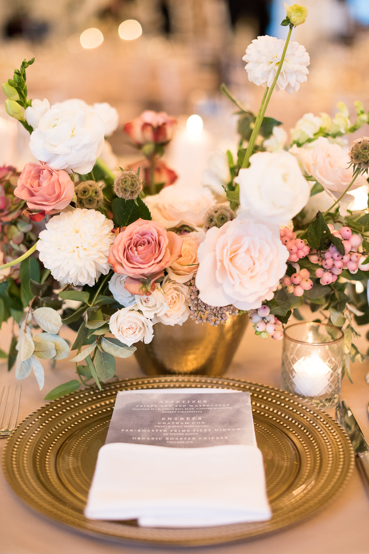 Table Flower Centerpieces by Ava Floral Design