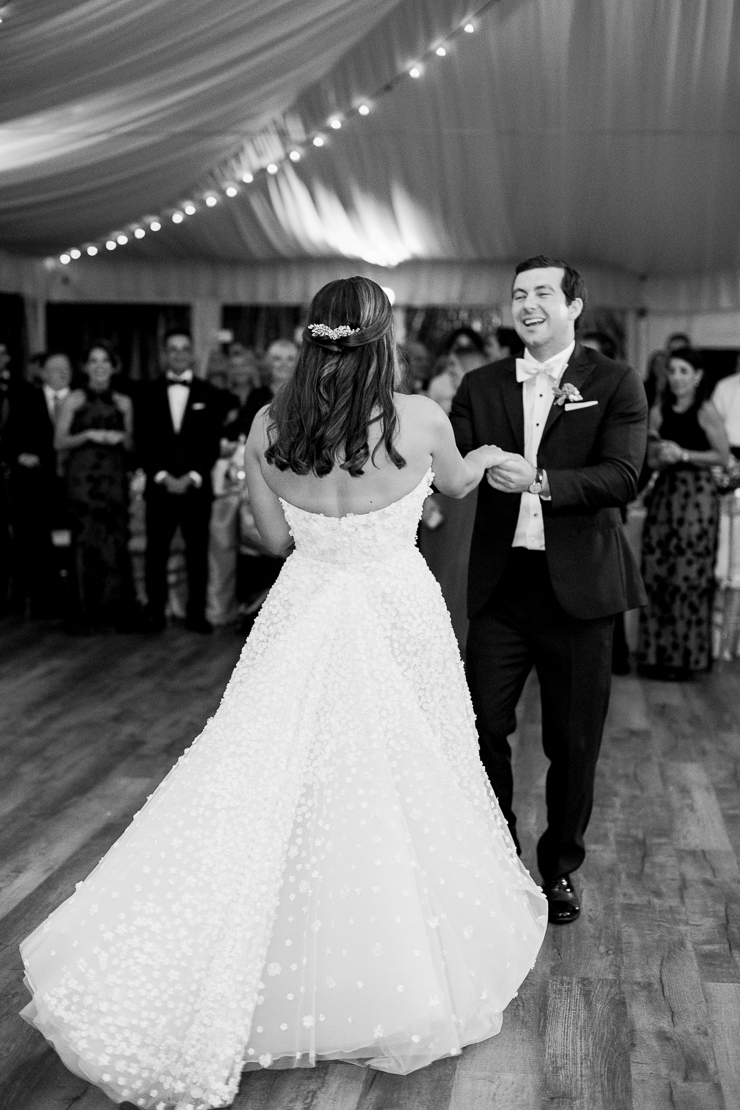 Bride and Groom First Dance Wedding Photos