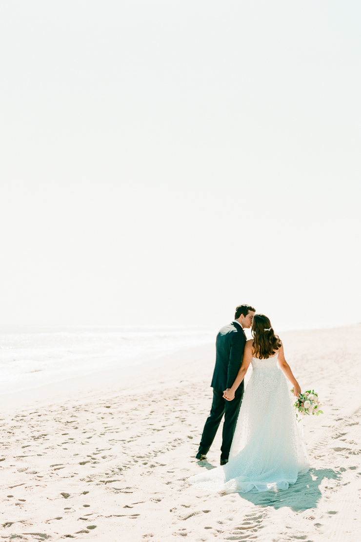 Bride and Groom Photos on Beach Gurney's Montauk