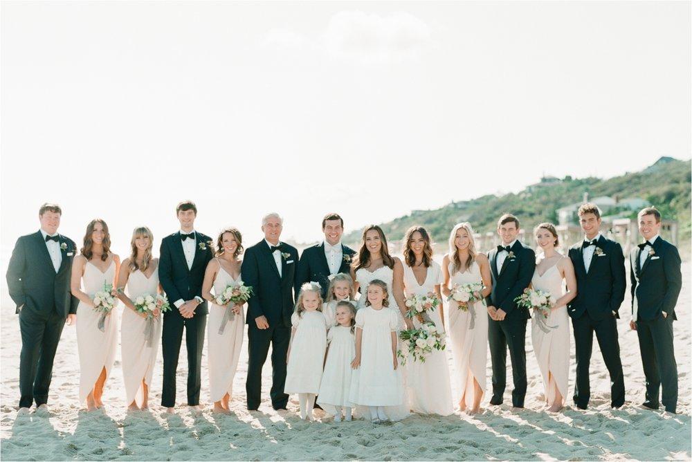 Bridal Party Photos on Beach Gurneys Montauk Wedding