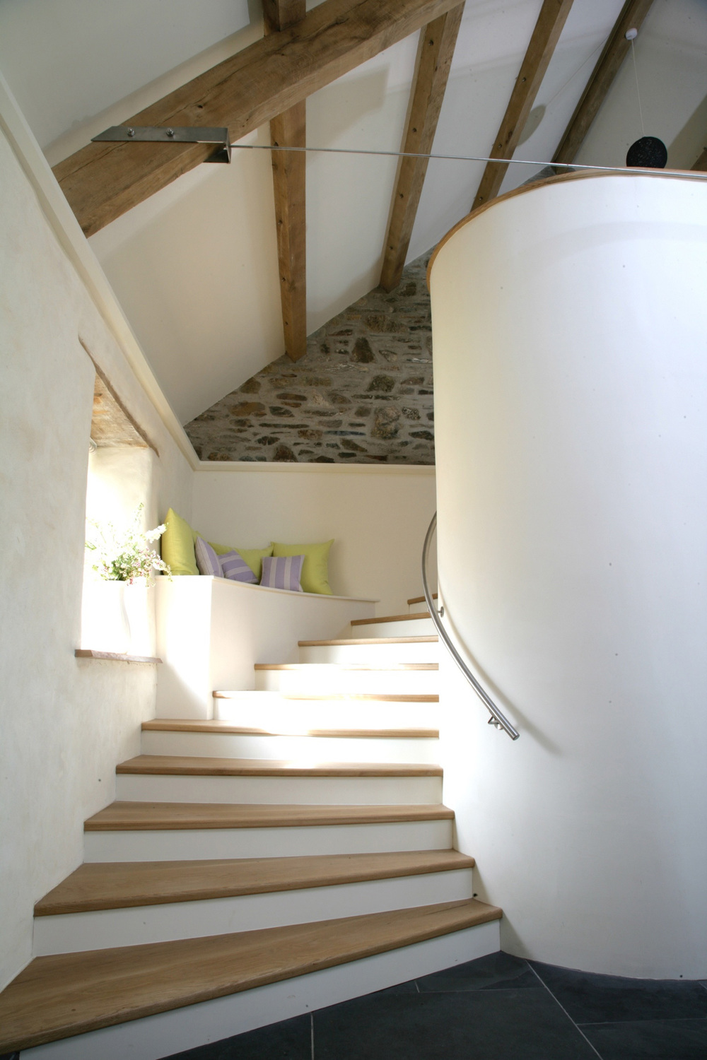 MAIN BARN STAIRCASE