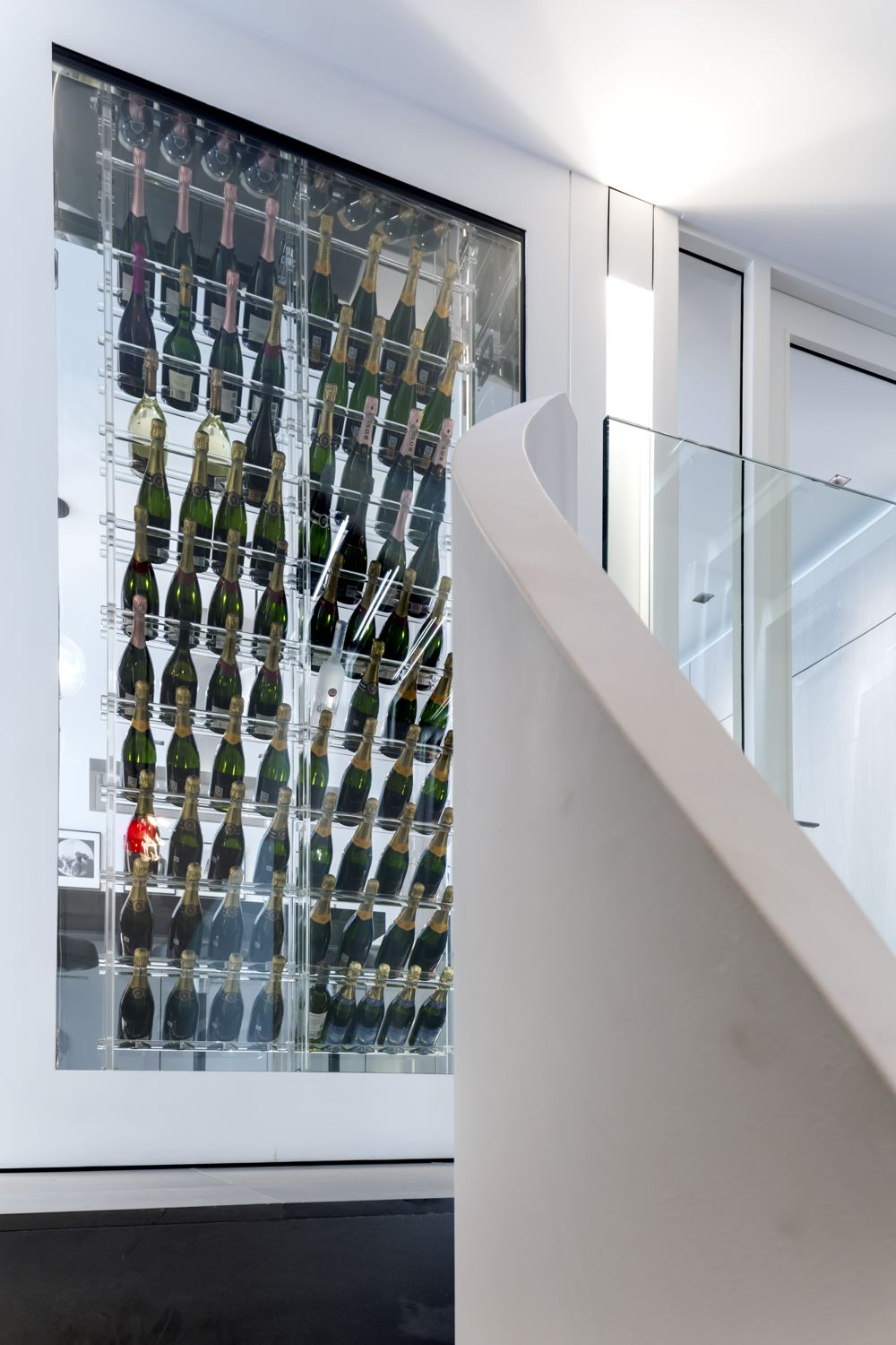CHAMPAGNE FRIDGE WALL