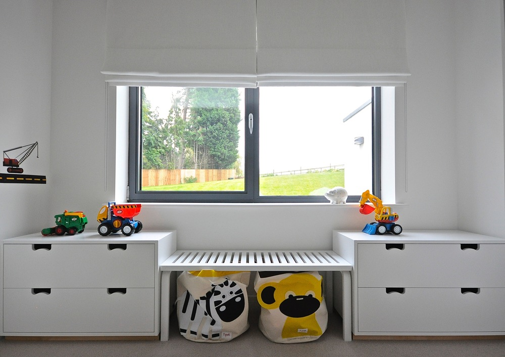 WINDOW SEAT AND TOY STORAGE