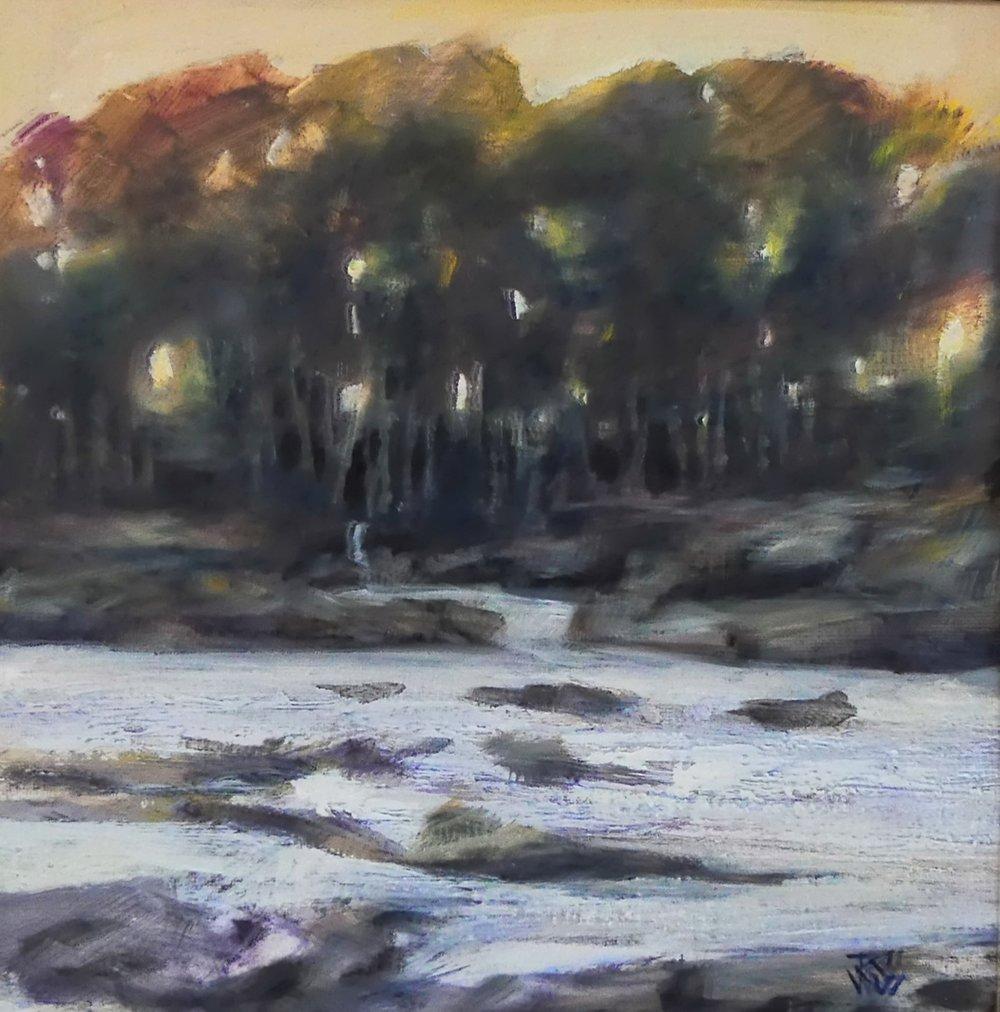 River Tay 10    25x25cm