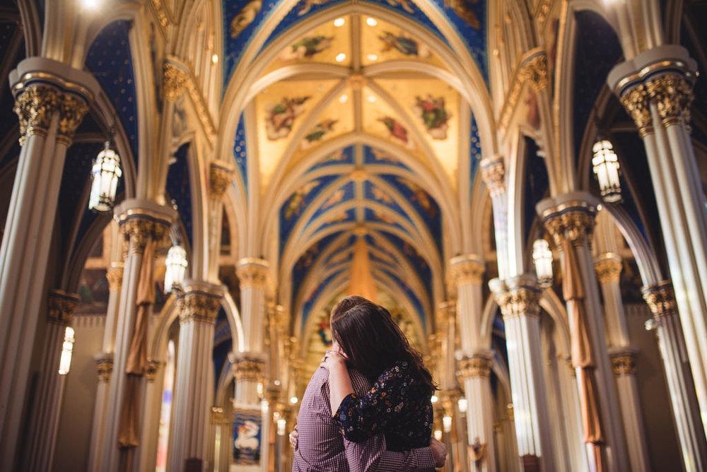 Notre Dame Basilica Engagement Session Kayla Derek-10-9871.jpg