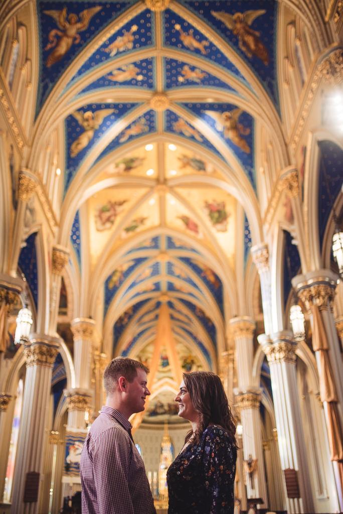 Notre Dame Basilica Engagement Session Kayla Derek-4-9848.jpg