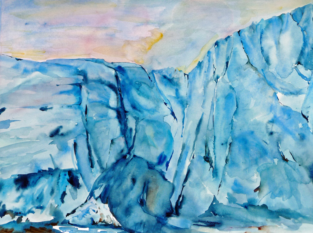 Lisa Goren, Arctic Ice, 22x30, clayboard, $925.jpg