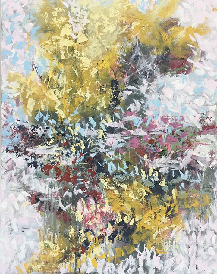 Hadal 30x24, acrylic on canvas, $1800