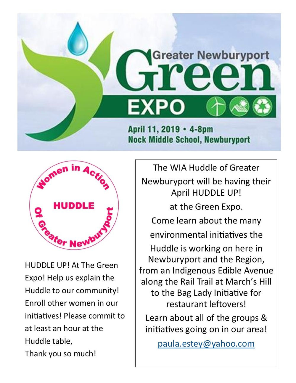 Green Expo Huddle April 2019   flyer.jpg
