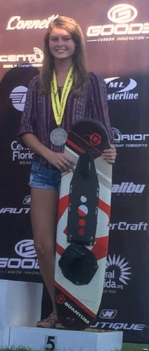 Amanda Medals at 2016 Nationals