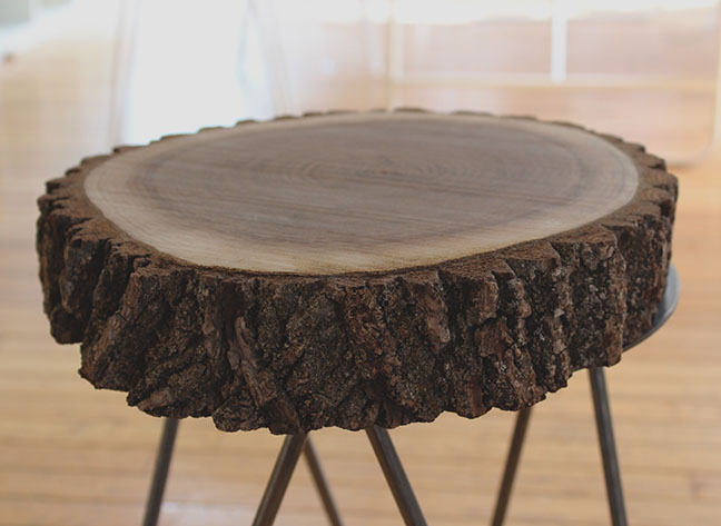 Hairpin Leg Custom Side Table