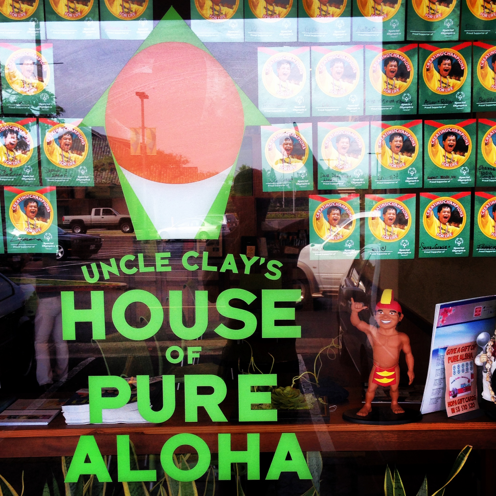 The Menehune can't get enough Shave Ice from Uncle Clay's HOPA