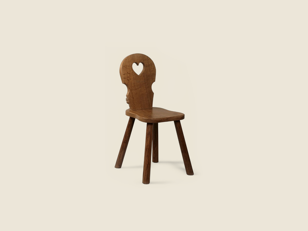 BF1108 Solid Oak Child's Chair