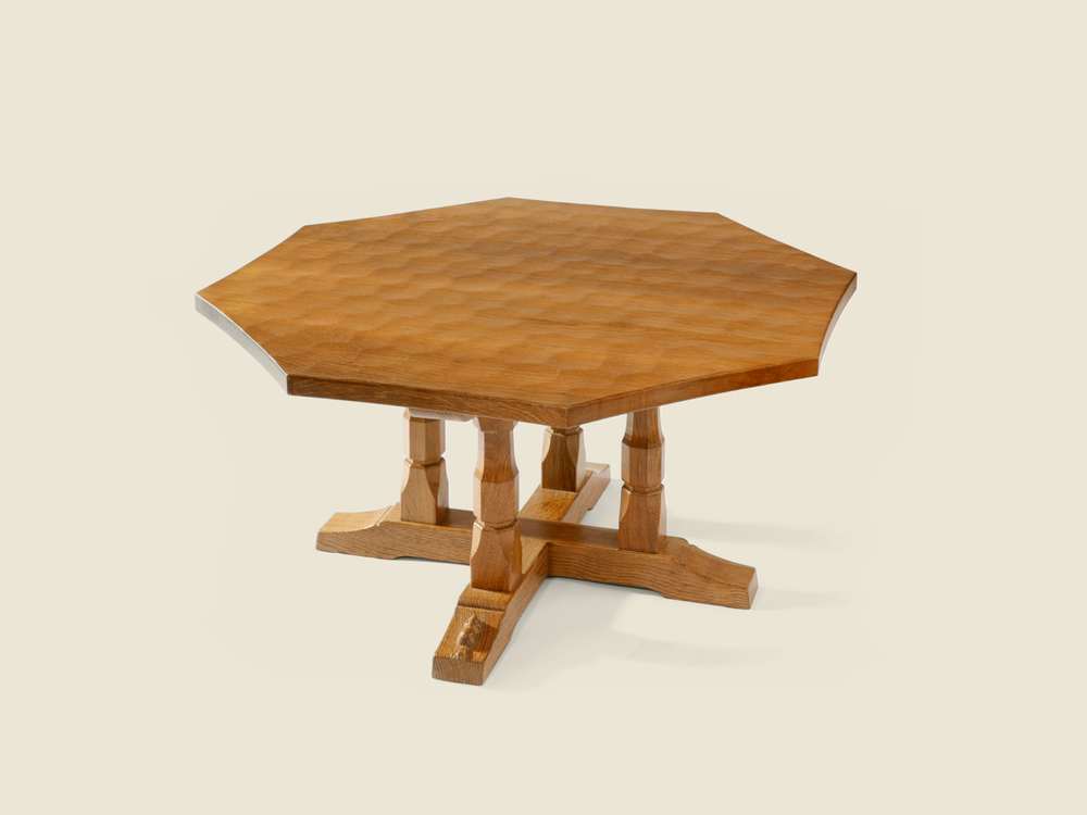 BF1004 Octagonal Occasional Table on 4 Posted frame.