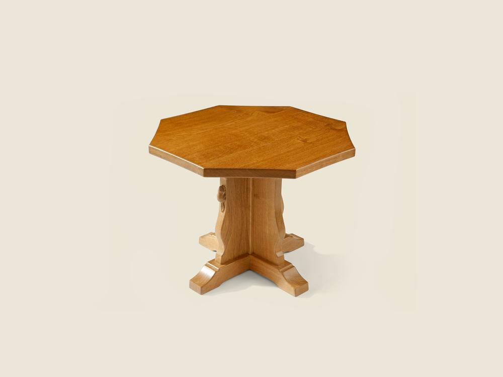 Oak Octagonal Coffee Table