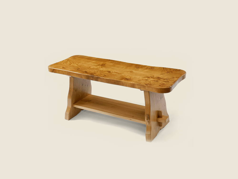 BF1011 Solid Oak Rustic Occasional Table
