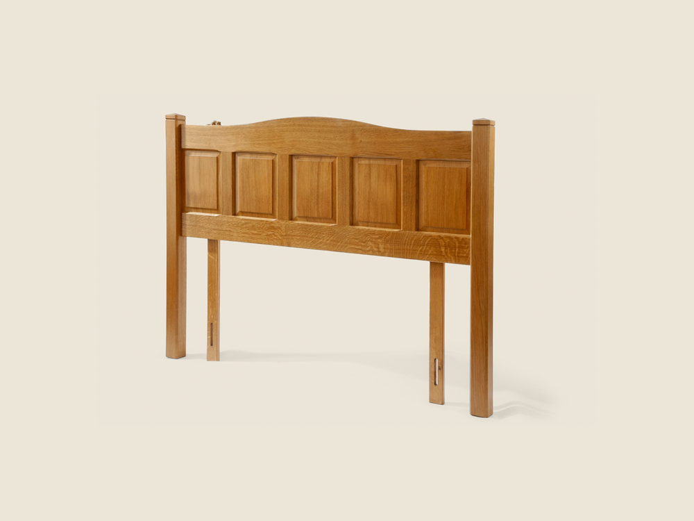 BF704 Oak King-Size Headboard