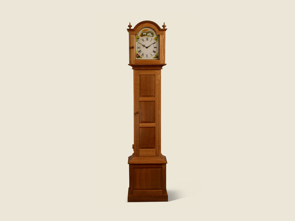 BF801 Oak Grandfather Clock