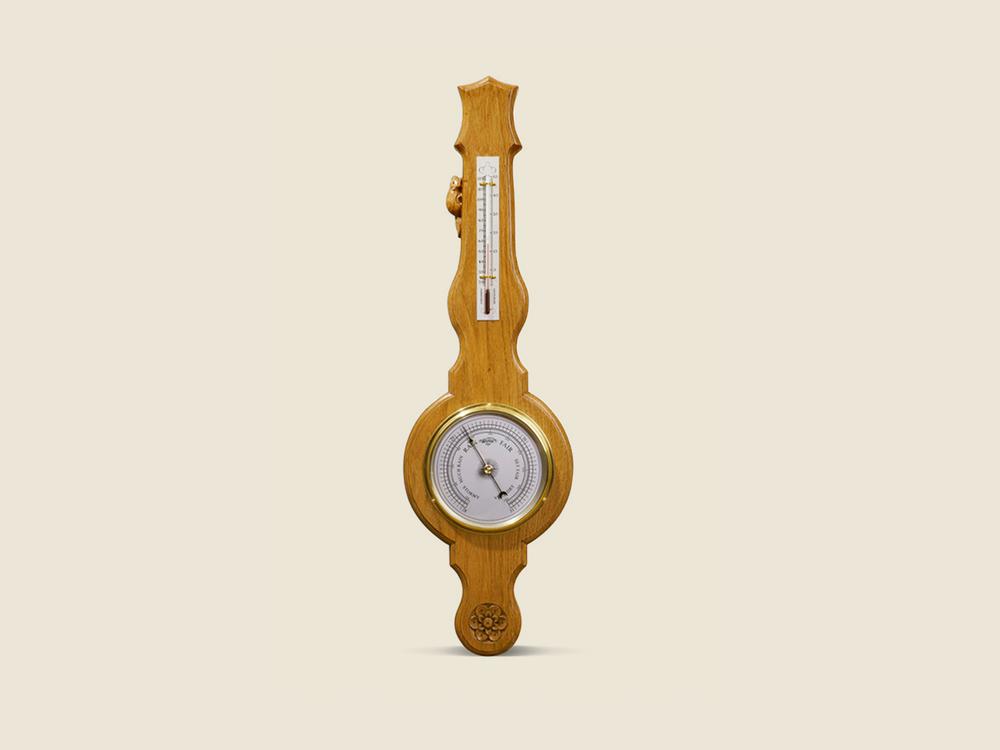 BF806 Oak Barometer