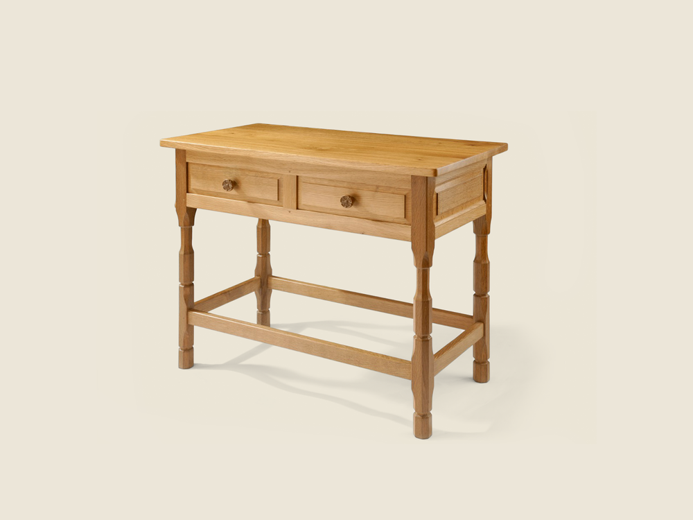 BF1007 Solid Oak Hall Table