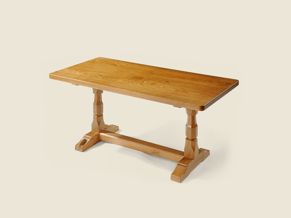 BF1001 Solid Oak Rectangular Occasional Table
