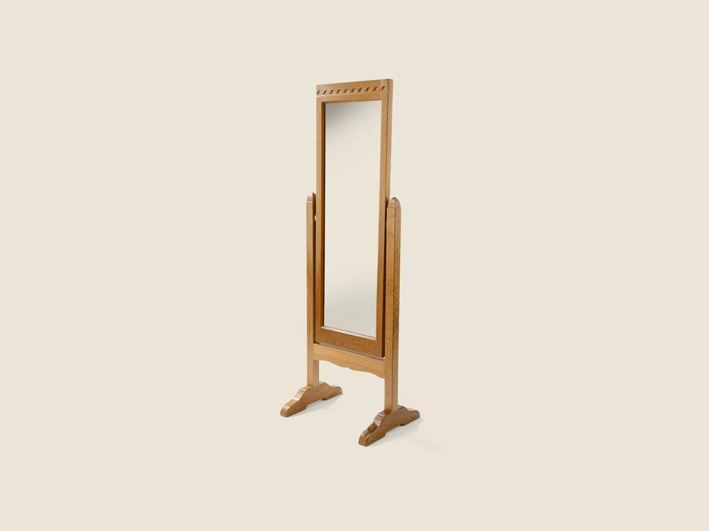 Oak Dressing Mirror