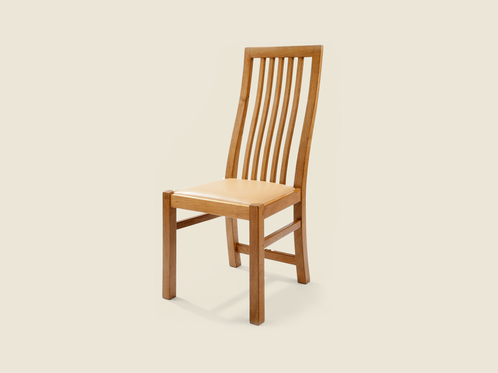BF215 Oak Mexborough Dining Chair