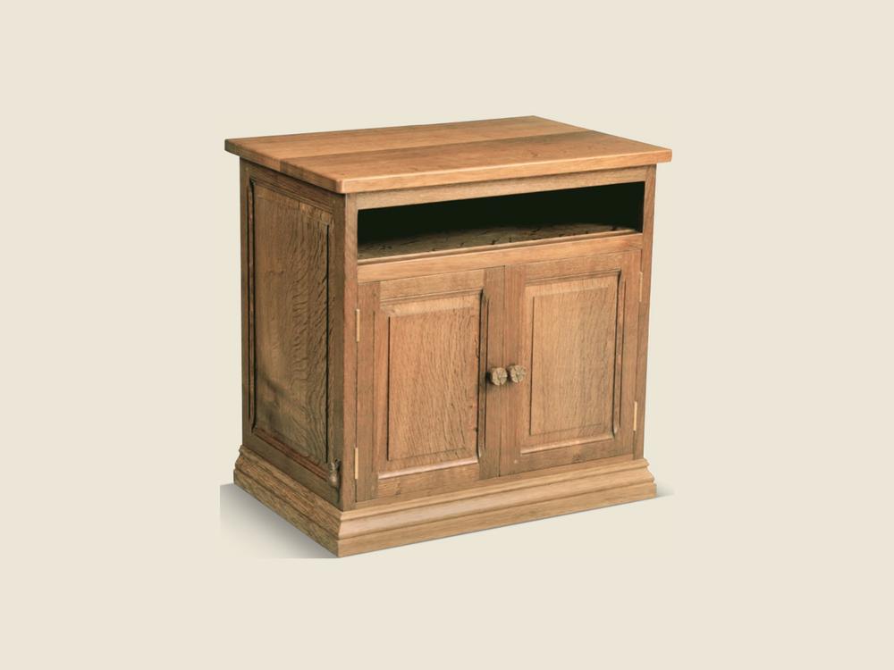 BF609 Solid Oak Bespoke Cabinet