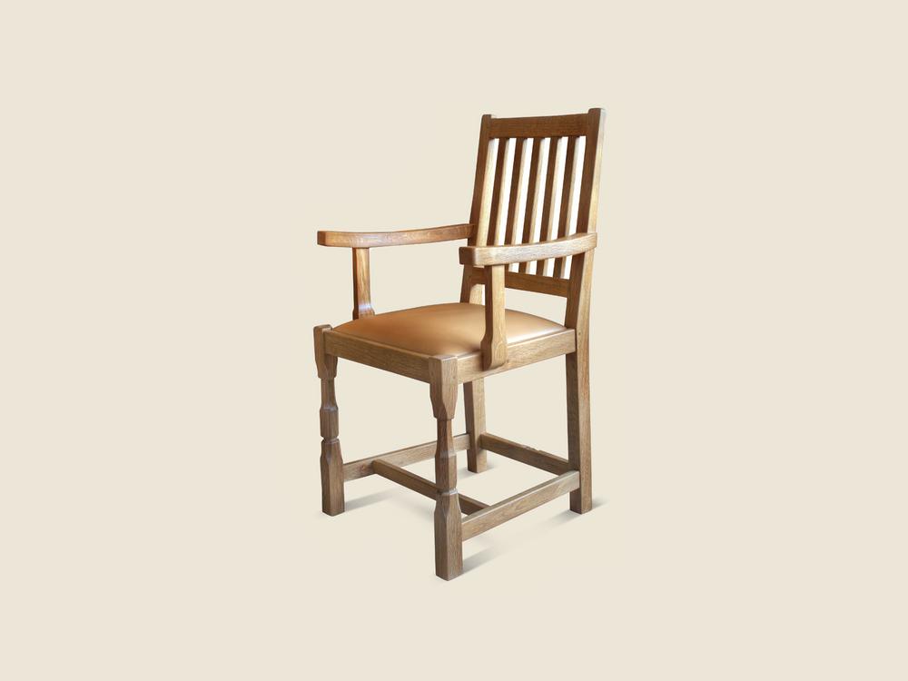 handmade-oak-dining-chair