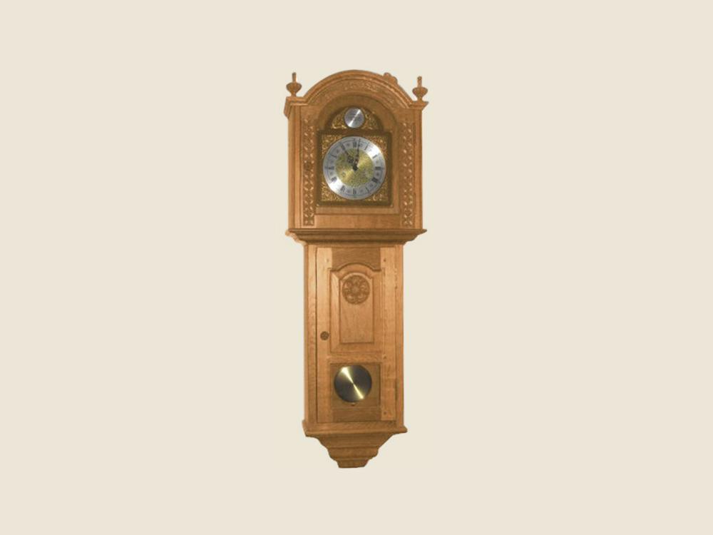BF805 Oak Wall Clock