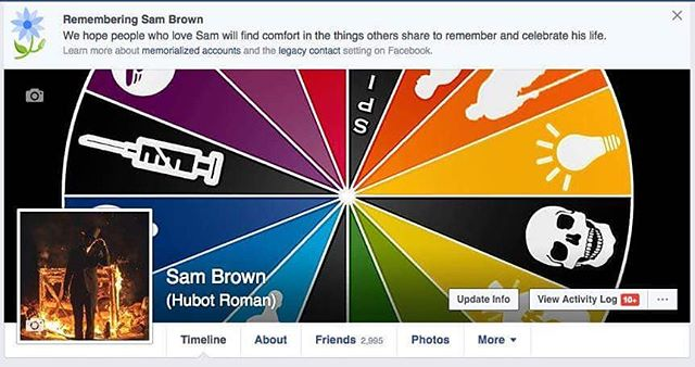 Sam Brown is dead. Facebook knows the truth. #sambrownisdead #whoissambrown