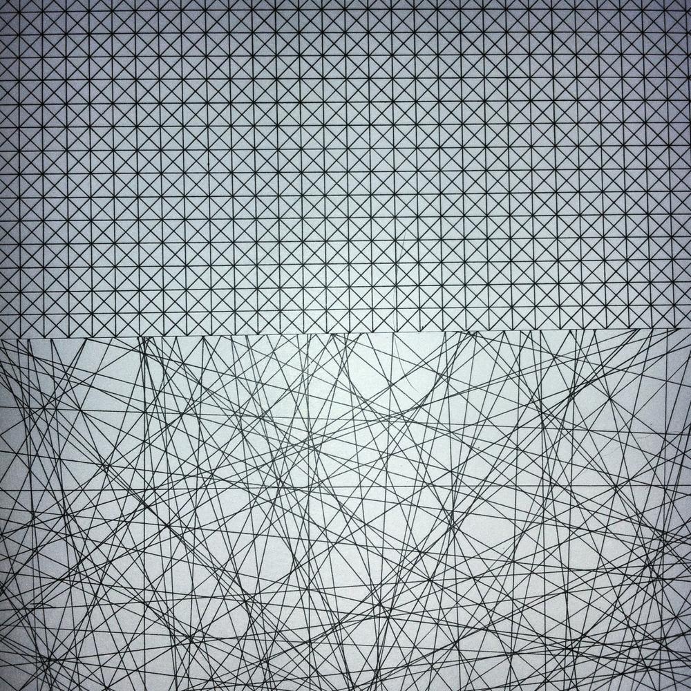 hibou-gris :     (incipere iii e iv) // marcador sobre papel // 150x150 mm.