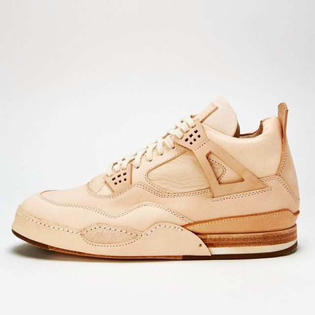freshnessmag :     A leather Air Jordan IV? It's from Hender Scheme, a Japanese company. Thoughts?