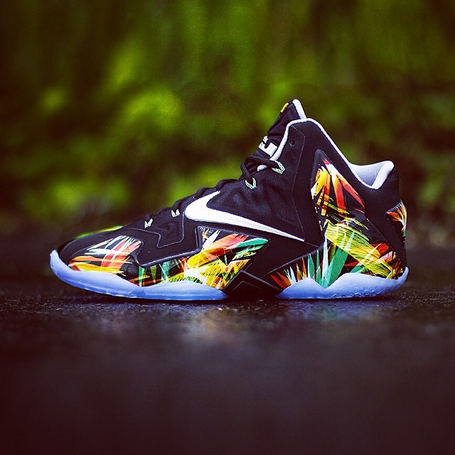 "freshnessmag :     Release Reminder - Nike LeBron 11 ""Everglades"" Coming Your Way Tomorrow."