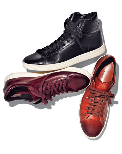 gq :       Fashionably Late: Tom Ford Enters the Sneaker Game